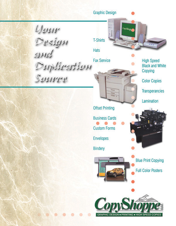 Copy Shoppe In East Windsor Ct Graphic Arts Printing Copying